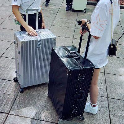 行李箱女学生密码箱旅行箱男24寸箱包复古26寸小清新拉杆箱子20寸