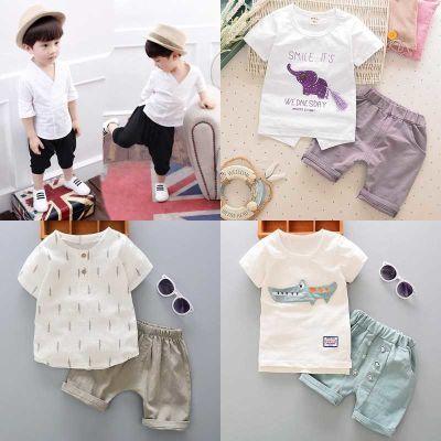 男童1宝宝夏装套装2岁3婴儿童装4衣服12个月2017新款0韩版8潮6女