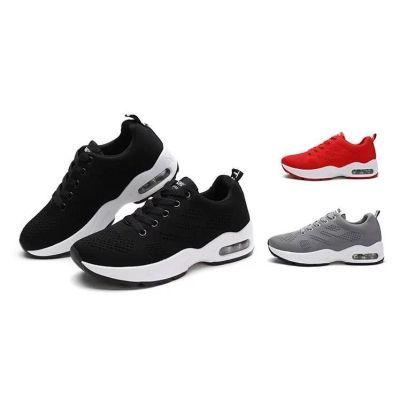Q-夏季网面透气女鞋运动鞋女单鞋韩版百搭气垫鞋子女学生跑步鞋