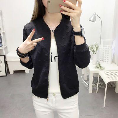 秋装外套女2018新款韩版学生薄款短款百搭棒球服长袖小外套