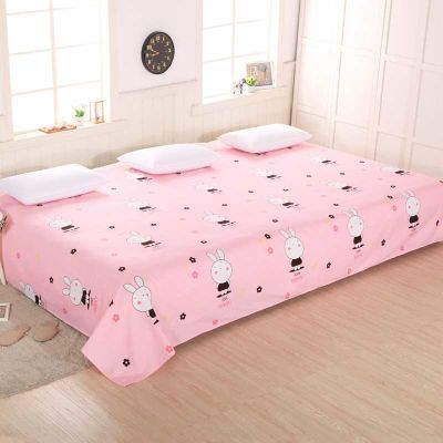大床单3米双人4米炕单单件大炕单加厚加长加大磨毛榻榻米床单单件