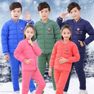 新款儿童羽绒服内胆套装男童女童中大童羽绒服正品反季童装外套