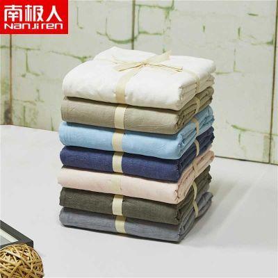 南极人床笠单件纯棉全棉水洗棉加厚1.8m床罩床单席梦床垫保护套