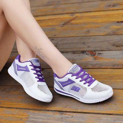 运动鞋防臭11单网鞋透气镂空12大童女鞋中夏季13岁15网面休闲学生