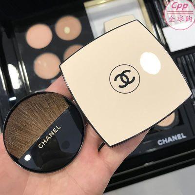 现货 Chanel/香奈儿米色时尚BB蜜粉/修颜粉/自然亮肌蜜粉饼SPF15