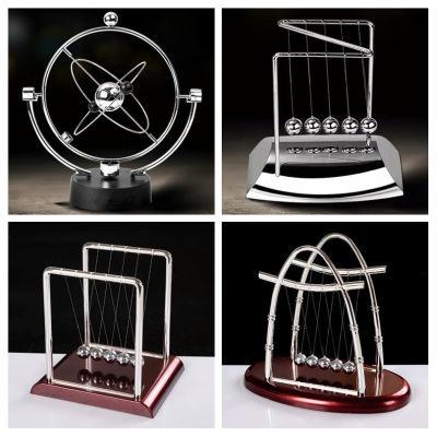 牛顿摆球撞球永动机仪创意磁悬浮办公桌面家居装饰品摆件生日礼物