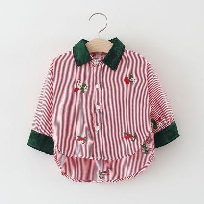 童装女宝宝短袖T恤2018新款女童夏装2-3岁儿童短袖上衣婴儿娃娃衫