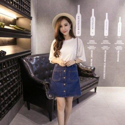 毛线裙子件套妈妈裤子长裤雪纺裙半身裙韩版毛衣宽松短裙套装大码