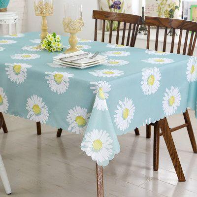 新品布艺桌布防水茶几布餐桌布棉麻小清新正方形长方形台布圆桌布