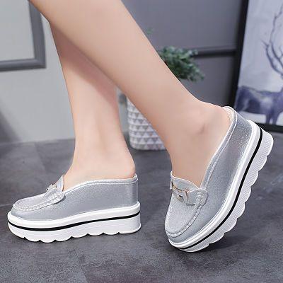 女生拖鞋夏季韩版外穿民族风女鞋厚底凉鞋子女学生夏穿女女冬季可