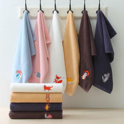 【卡通方巾毛巾浴巾】 纯棉加厚柔软吸水方巾毛巾浴巾家用面巾