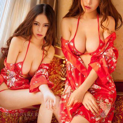 情趣内衣内裤开档蕾丝套装骚激情性感睡衣免脱大码透明日本和服骚