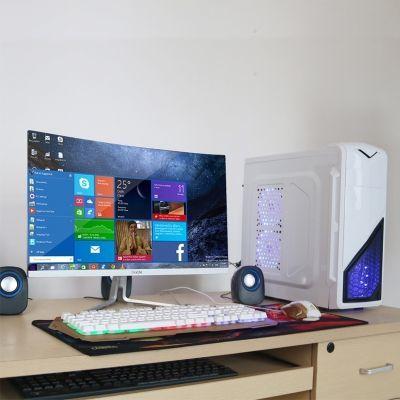 组装电脑显示屏吃鸡号主机平底锅电扇台式游戏手柄绝地求生内存条