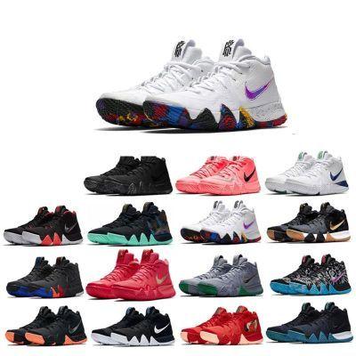 Nike Kyrie4欧文4代炫彩NCAA全明星黑红黑橙男女篮球鞋943807-10