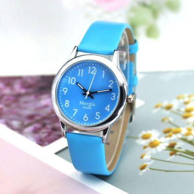 儿童手表指针男孩女大童电子表时尚简约小清新数字防水女孩学生表