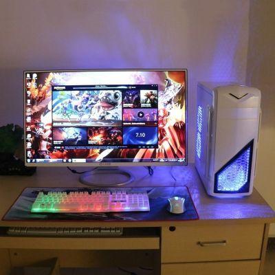 电脑主机游戏手柄显卡叶仙子吃鸡部落冲突手提台式机核平板变音器