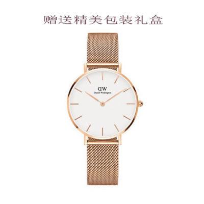 潮流时尚超薄男女学生韩版简约钢带尼龙带帆布情侣石英电子手表