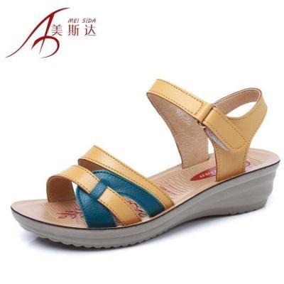 夹拖鞋女高跟女夏外穿时尚水钻字拖恨天高高跟鞋厘米细跟中年府鞋