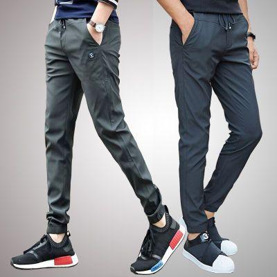 男装牛仔裤冬季裤子社会男裤子衣服男短袖潮流分裤男裤修身小脚条