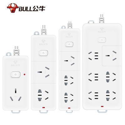 延长线电源插座家用多孔插排插头转换器公牛手机充电电线大功率器