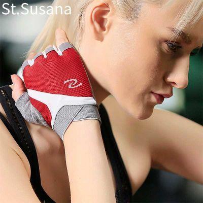 健身手套女半指器械训练单车防滑耐磨透气户外骑行薄春夏运动手套