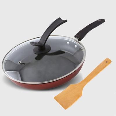 28CM煎锅不粘平底锅煤气电磁炉通用煎饼锅炒锅不粘锅锅具
