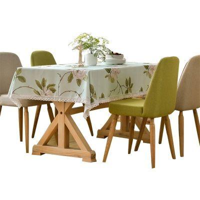 田园餐桌布布艺桌垫茶几桌布台布长方形桌布防水防烫免洗
