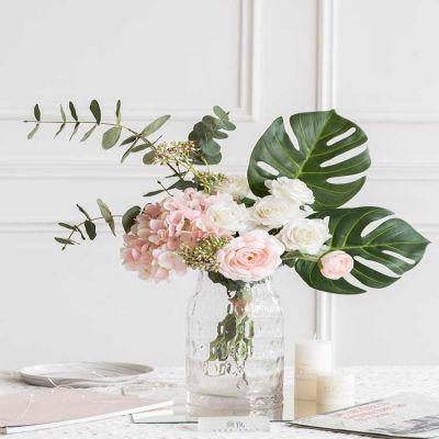 颜物仿真花艺假花瓶摆件 ins北欧家居摆设 客厅装饰餐桌花束套装