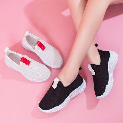 女运动鞋学生韩版百搭鱼嘴鞋女女生帆布鞋豆豆鞋女学版夏社会高跟