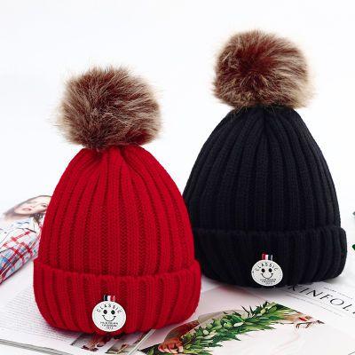 帽子女韩版学生冬季新款可爱加绒针织帽时尚百搭加厚保暖帽毛线帽