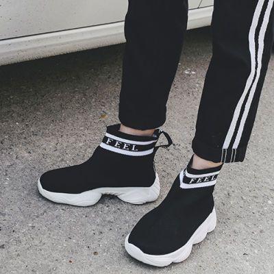 子鞋女夏季新款2018百搭韩版街舞嘻哈女鞋子潮时尚学生高帮鞋女