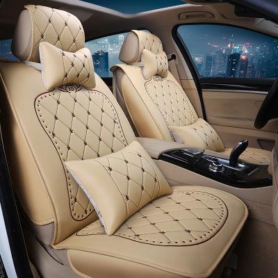 绅宝奇瑞五菱宏光座套面包车坐垫套东南卡罗拉新能源汽车长安车垫