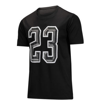 欧文宽松速干运动T恤男短袖圆领科比夏跑步上衣韦德篮球健身服薄