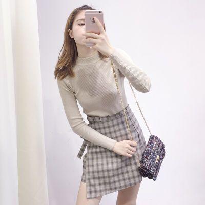 套裙件套秋冬冬季外套女学生韩版中长款女士秋装新款修身连衣裙夏