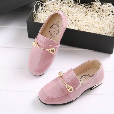 男童秋季鞋子水晶鞋儿童女童高跟鞋凉鞋妈妈皮鞋女孩鞋鞋单鞋平底