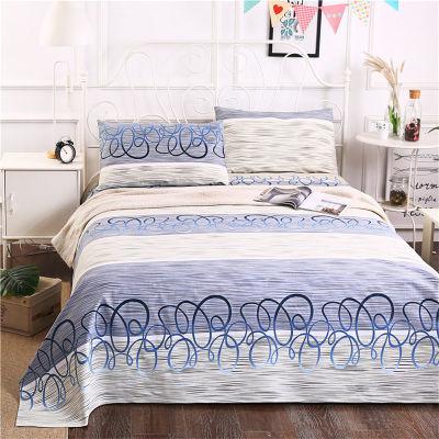 金泰莱粗布床单单子双人加厚棉布被单加大床米