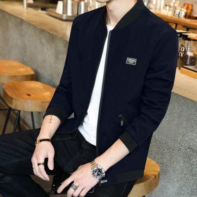 韩版宽松男士黑色运动大码外套男大学生时尚上衣个性休闲长袖街头