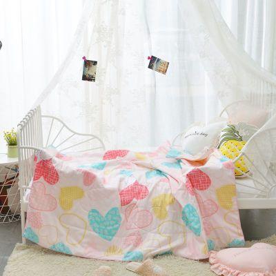 新品纱布棉花婴儿夏被双层纱儿童夏被夏被空调被