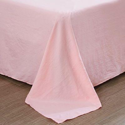 网红爆款水洗棉四件套皇媛床上用品学生宿舍被套床单三件套