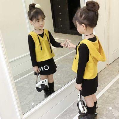 女童连衣裙秋女宝宝打底衫女孩裙女夏装秋天衣服儿童运动装女小女