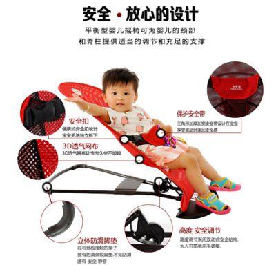 吊篮椅宝木马摇椅玩具椅摇摇车溜娃神器轮儿童椅婴儿带器摇宝摇抱