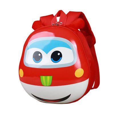 超级飞侠书包幼儿园儿童卡通可爱3D立体超轻 3-6岁男女宝宝蛋壳包
