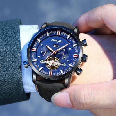 瑞士机芯 手表男 机械表防水夜光时尚大表盘多功能全自动超薄新款