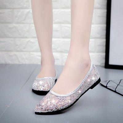 毛毛鞋女学生韩版夏字扣高跟鞋坡跟凉鞋尖头平底酒杯跟高跟鞋鞋子