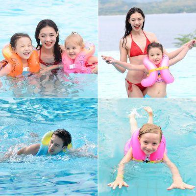 吉龙儿童游泳圈男女童泳圈加厚双气囊腋下泳圈游泳圈