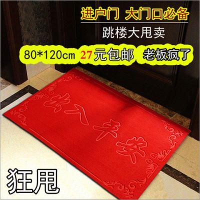 入户门地垫门垫进户门厅玄关家用蹭脚垫卫生间卧室门口吸水防滑垫