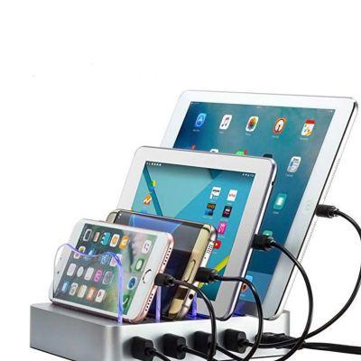 多口USB充电器 USB插头充电头多孔插座快速多功能收纳