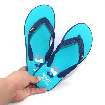 越南橡胶男士人字拖鞋男防滑软底户外穿夹脚海滩沙滩鞋潮流凉拖鞋