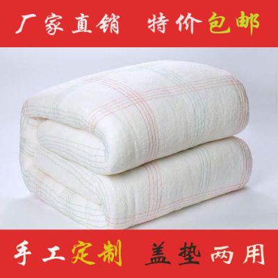 棉被盖垫用棉花被被芯垫被床垫被褥子学生宿舍棉胎