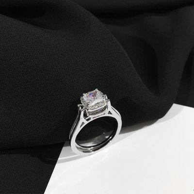 克罗心戒指女韩版钻戒女艾辰石项链女学生韩版简约不掉色冷淡风学